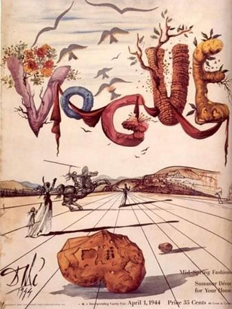 20 Iconic Vogue Covers Created by Great Artists | Salvador Dalí | Shop online Dalí | Surrealismstore