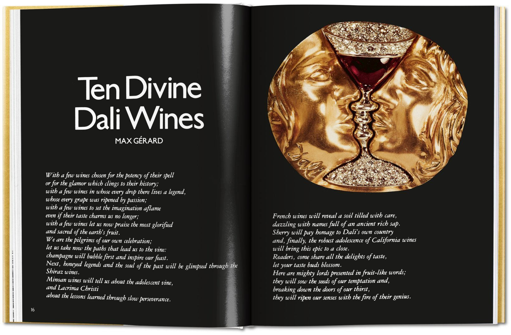 Salvador Dalí.The Wines of Gala