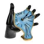 "Table Soft Clock ""Hand"" 