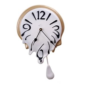 "Soft clock with pendulum ""Drop"" 