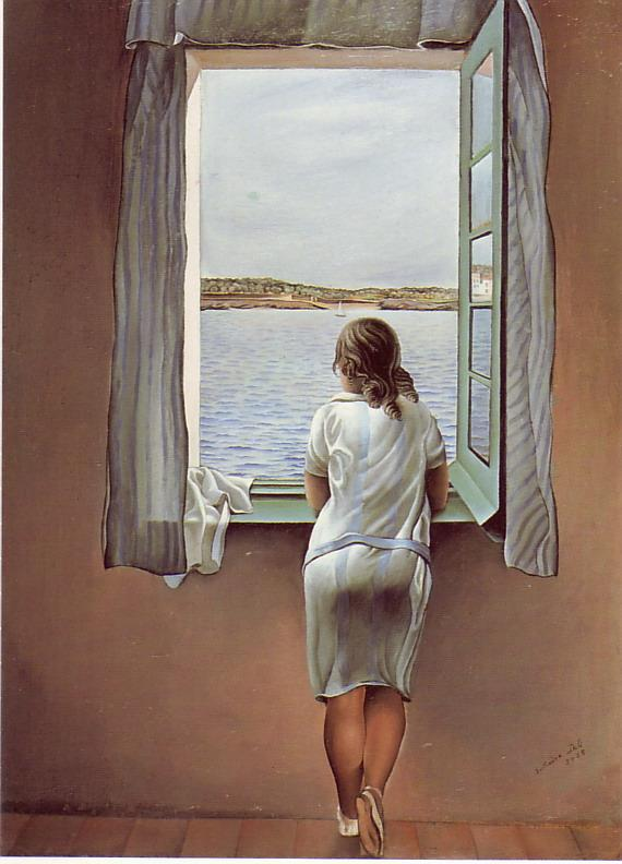 "Poster ""Girl at the Window"", 1925 